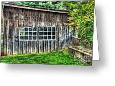 Little Brown Shed Greeting Card by Debbi Granruth