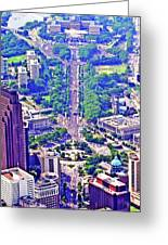 Live8 Concert Philadelphia Pennsylvania Greeting Card by Duncan Pearson