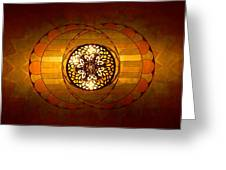 Lobby Lighting Greeting Card by Accent on Photography