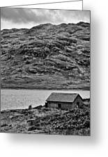 Loch Arklet Boathouse Greeting Card by Chris Thaxter
