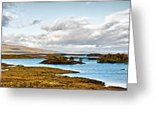 Loch Ba View Greeting Card by Chris Thaxter