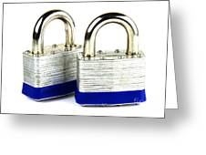 Locks Greeting Card by Blink Images
