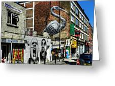 London 127 Greeting Card by Lance Vaughn