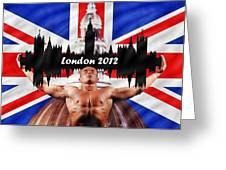 London 2012 Greeting Card by Sharon Lisa Clarke
