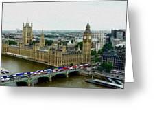 London Greeting Card by Dmytro Toptygin