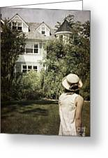 Longing Greeting Card by Margie Hurwich