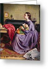 Lord - Thy Will Be Done Greeting Card by Philip Hermogenes Calderon