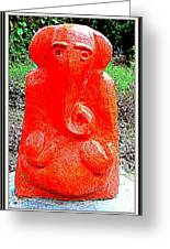 Lord Ganesha Greeting Card by Anand Swaroop Manchiraju