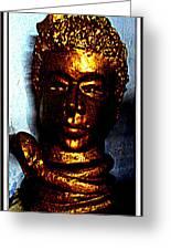 Lord Shiva Greeting Card by Anand Swaroop Manchiraju