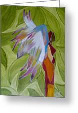 Lost Angel Greeting Card by Elizabeth Ribet