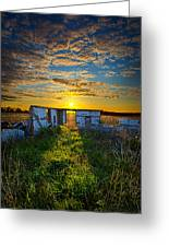 Lost In Time Greeting Card by Phil Koch