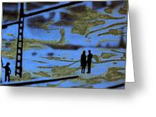 Lost In Translation - Serigrafia Arte Urbano Greeting Card by Arte Venezia
