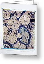 Lost Time Greeting Card by Garry Gay