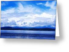Lough Swilly, County Donegal, Ireland Greeting Card by The Irish Image Collection