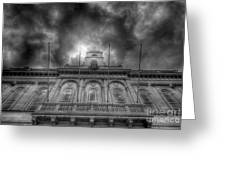 Loughborough Town Hall Greeting Card by Yhun Suarez