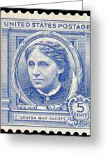 Louisa May Alcott (1832-1888) Greeting Card by Granger
