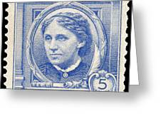 Louisa May Alcott (1832-1888) Greeting Card by Granger