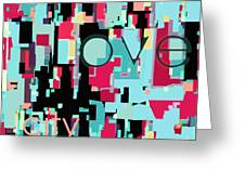 Love City Greeting Card by Jayne Logan Intveld