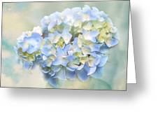 Love Letter Vii Hydrangea Greeting Card by Jai Johnson