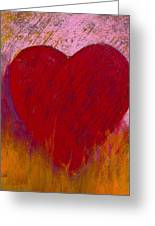 Love On Fire Greeting Card by David Patterson