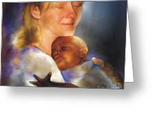 Love One Another Just As I Have Loved You Greeting Card by Bob Salo
