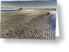 Low Tide Greeting Card by Drew Castelhano