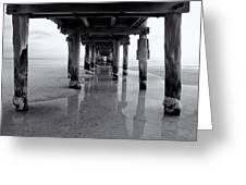 Low Tide Greeting Card by Tim Nichols