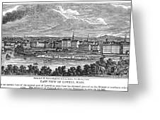 Lowell: Factories, 1844 Greeting Card by Granger