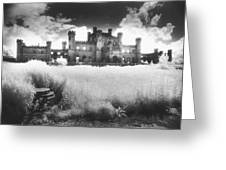 Lowther Castle Greeting Card by Simon Marsden