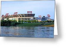 Lp Field Nashville Tennessee Greeting Card by Kristin Elmquist