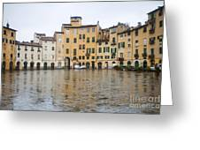 Lucca Greeting Card by Andre Goncalves