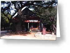 Luckenbach Texas - II Greeting Card by Susanne Van Hulst
