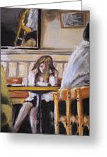 Lunch Hour Greeting Card by Paul Mitchell