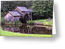 Mabry Mill Greeting Card by Wade Aiken