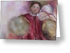 Madame Alexander Cisette Doll Greeting Card by Susan Hanlon