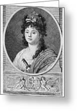 Mademoiselle Maillard Greeting Card by Granger