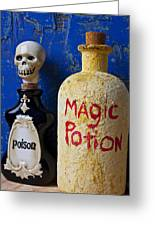 Magic Potion Greeting Card by Garry Gay