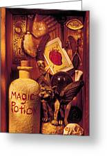 Magic Things Greeting Card by Garry Gay