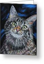 Magical Mr. Mistoffelees Greeting Card by Mike Paget