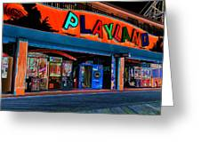 Magical Playland Greeting Card by Francie Davis