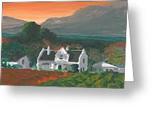 Mainhouse Petite Greeting Card by DC Decker