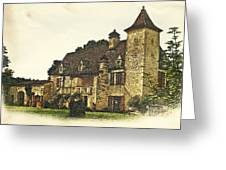 Maison De Martelet Greeting Card by Paul Topp