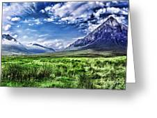 Majestic Highlands Greeting Card by Wendy White