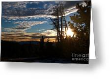Mammoth Mountain California At Sunrise Greeting Card by ELITE IMAGE photography By Chad McDermott
