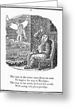 Man In The Moon, 1833 Greeting Card by Granger