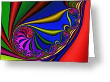 Mandala 209 Greeting Card by Rolf Bertram