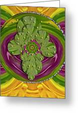 Mandala Art Greeting Card by Pepita Selles