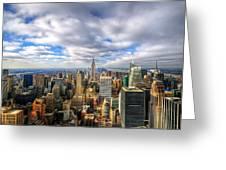 Manhattan05 Greeting Card by Svetlana Sewell