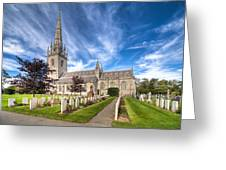 Marble Church Greeting Card by Adrian Evans