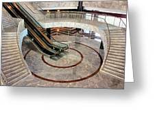 Marble Staircases Greeting Card by Kristin Elmquist
